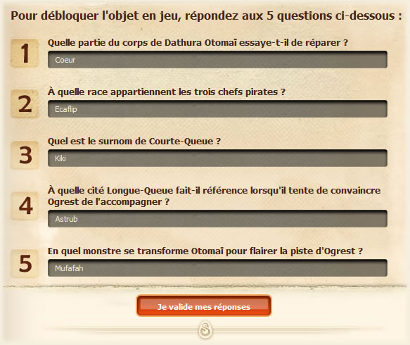 Ogrest Quest DOfus