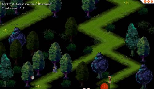 Cofre Maligno del Bosque Maléfico 006
